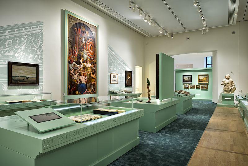 De nieuwe expositieruimte (Ivo Hoekstra - Mauritshuis)