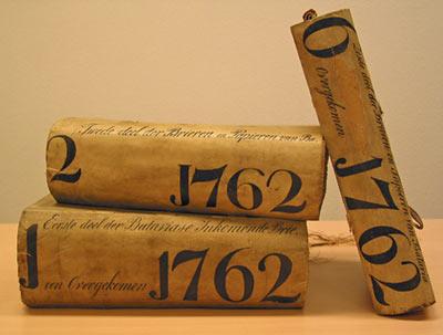Generale missiven uit het VOC-archief. (M. Gutierrez Rojas, Huygens-ING, 2007)