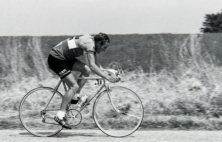 Joop Zoetemelk tijdens de Tour de France van 1976 (cc)