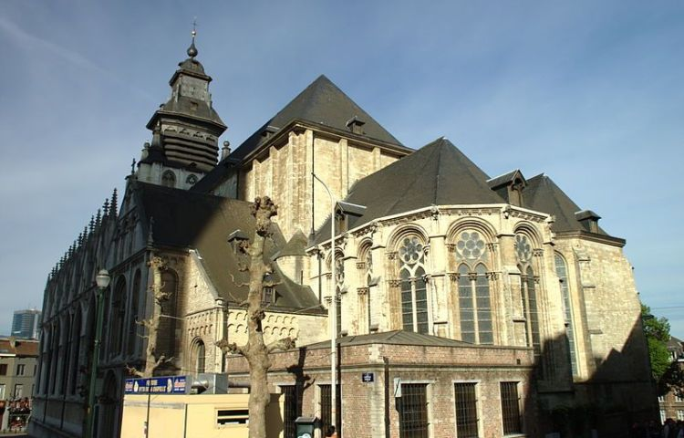 Kapellekerk in Brussel - cc Aktron