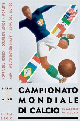 WK Voetbal van 1934 in Italië