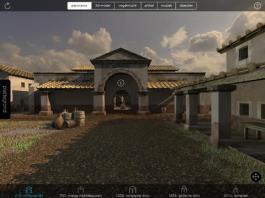 Het Domplein in 210; een paleisje in het Romeinse Trajectum