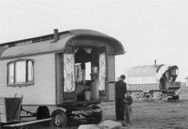 Historische woonwagen - cc