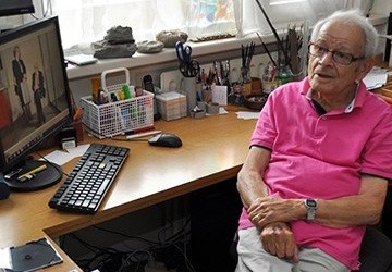 Jules Schelvis (Carlo Huffener, 6 juni 2014)
