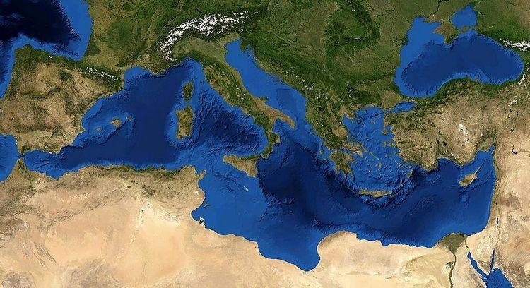 Mediterrannée - NASA