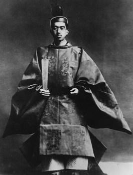Keizer Hirohito in 1928