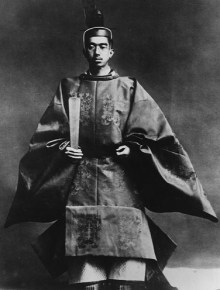 Keizer Hirohito in 1928