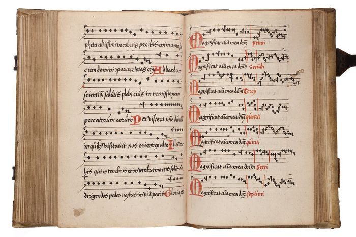 Utrechts hymnarium uit 1563 (Museum Catharijneconvent Utrecht, Ruben de Heer)