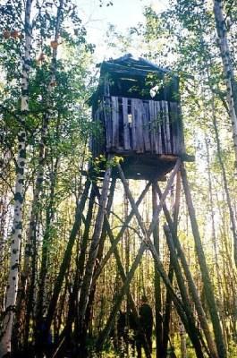 Wachttoren van een Goelag-kamp