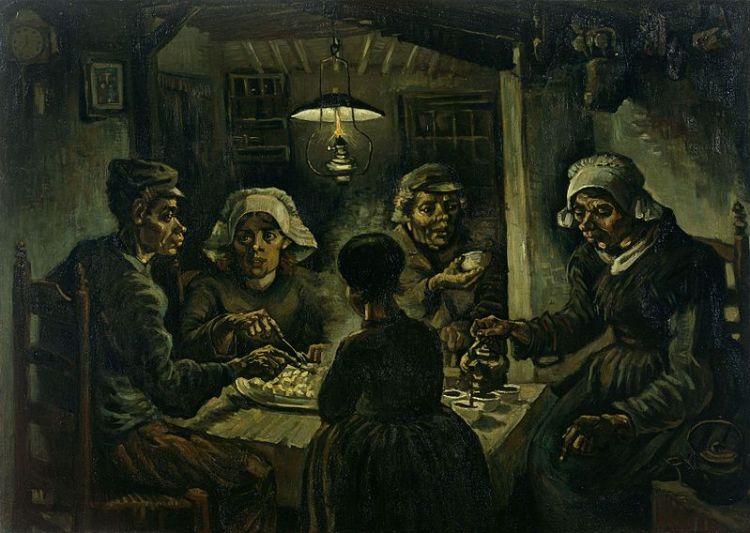De Aardappeleters - Vincent van Gogh
