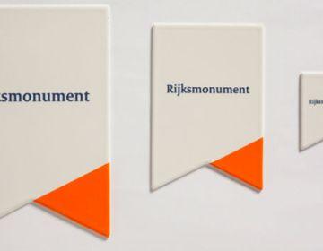 Het nieuwe bord voor Rijksmonumenten - ANWB