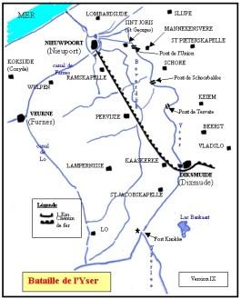 Slag om de IJzer - Frontverloop in 1915 en 1916 (cc)