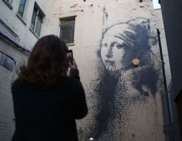 Banksy's Vermeer