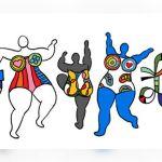 Doodle ter ere van Niki de Saint Phalle