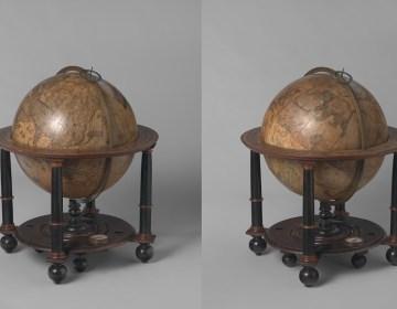 Globes van Blaeu (Rijksmuseum)