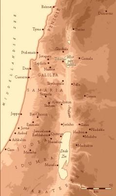 De Romeinse provincie Judea