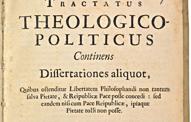 Tractatus theologico-politicus van Spinoza