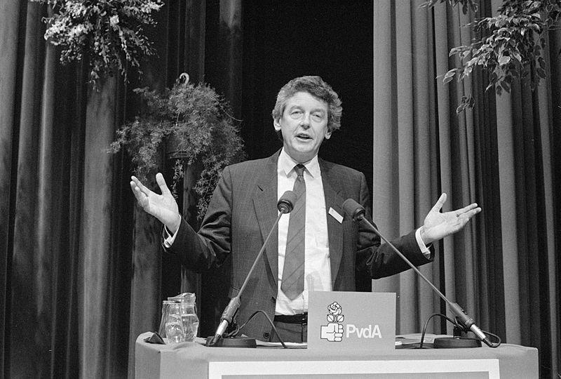 Wim Kok in 1987 (cc - Nationaal Archief)