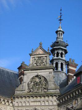 Detail van het Academiegebouw van de Universiteit Utrecht. -  cc