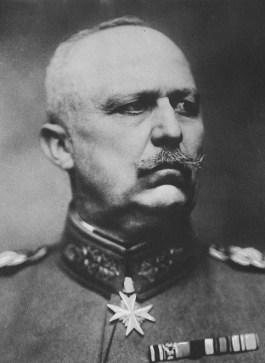 Generaal Erich Ludendorff