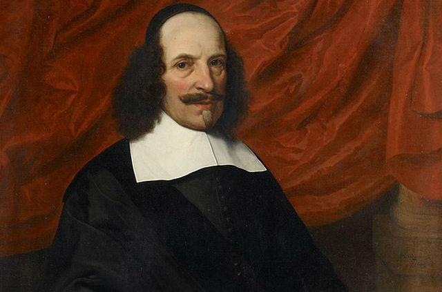 Johan Blaeu, portret uit 1663 door Jan van Rossum (collectie Amsterdam Museum)