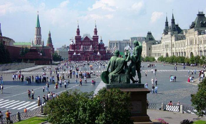 Rode Plein in Moskou - cc