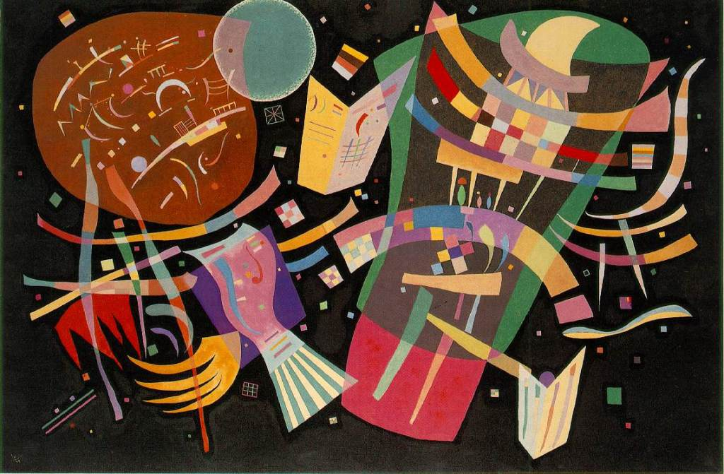 Composition X - Wassily Kandinsky, 1939