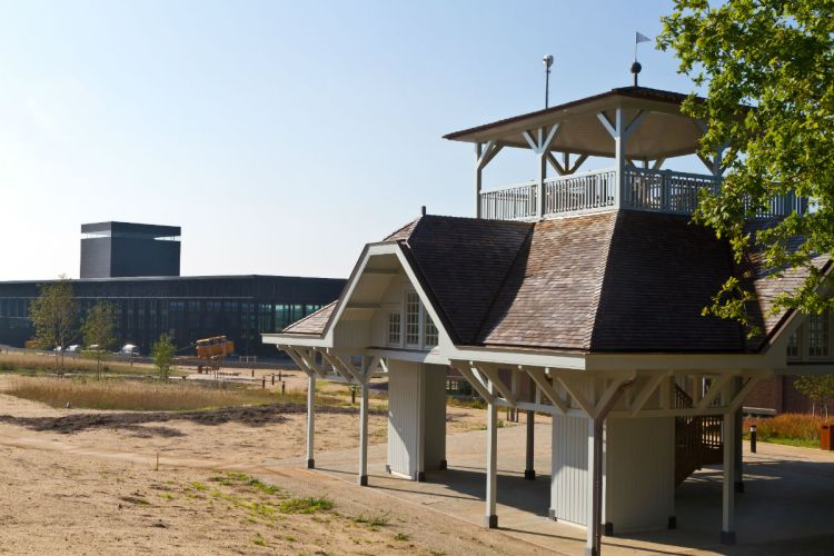 Gebouw 45, het oudste luchtvaartgebouw van Nederland (NMM)