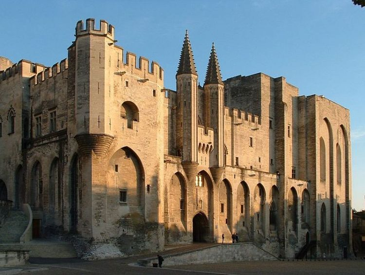 Palais des Papes in Avignon - cc