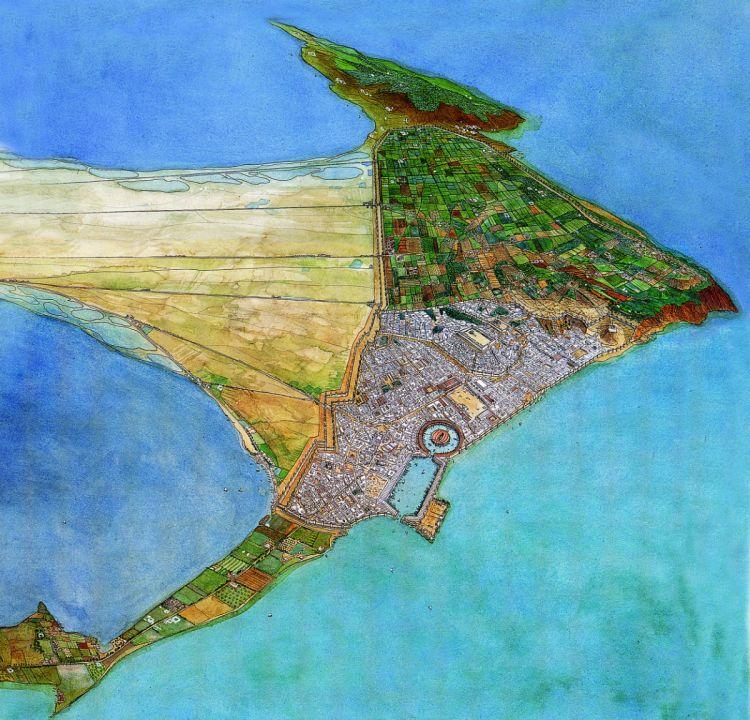 Punisch Carthago door Jean Claude Golvin (Agence de Mise en Valeur du Patrimoine et Promotion Culturelle, Tunis)