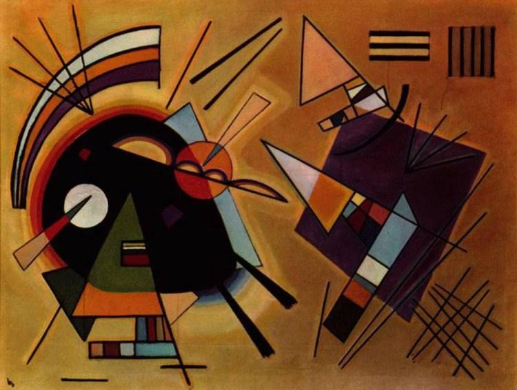 Zwart en violet, 1923