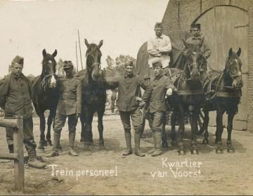 Mobilisatie in Ede, 1914
