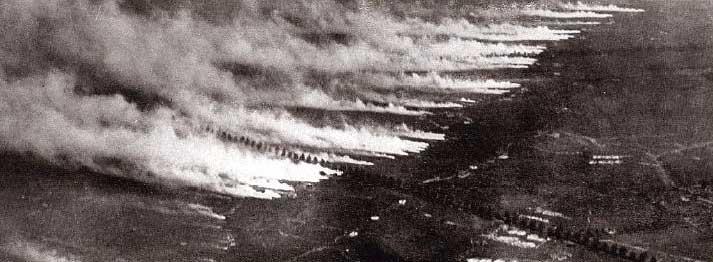 Gifgasaanval tijdens de Eerste Wereldoorlog - cc