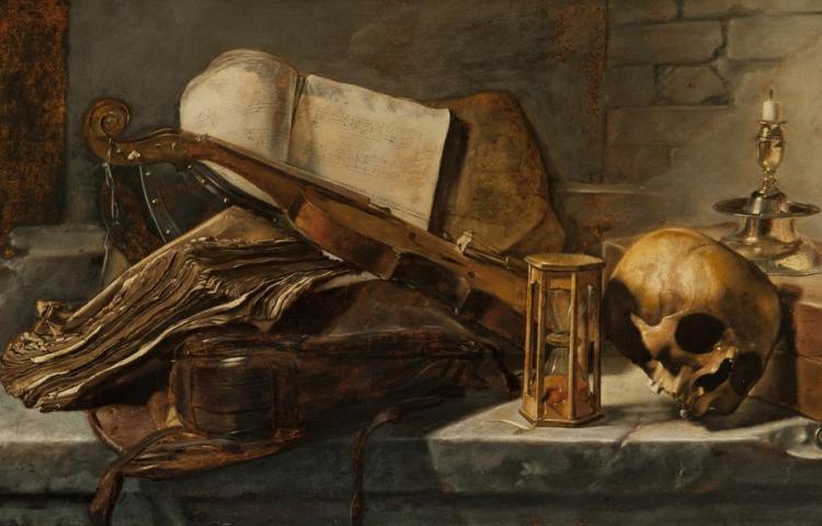 Het stilleven van Jan Lievens (Fundatie)