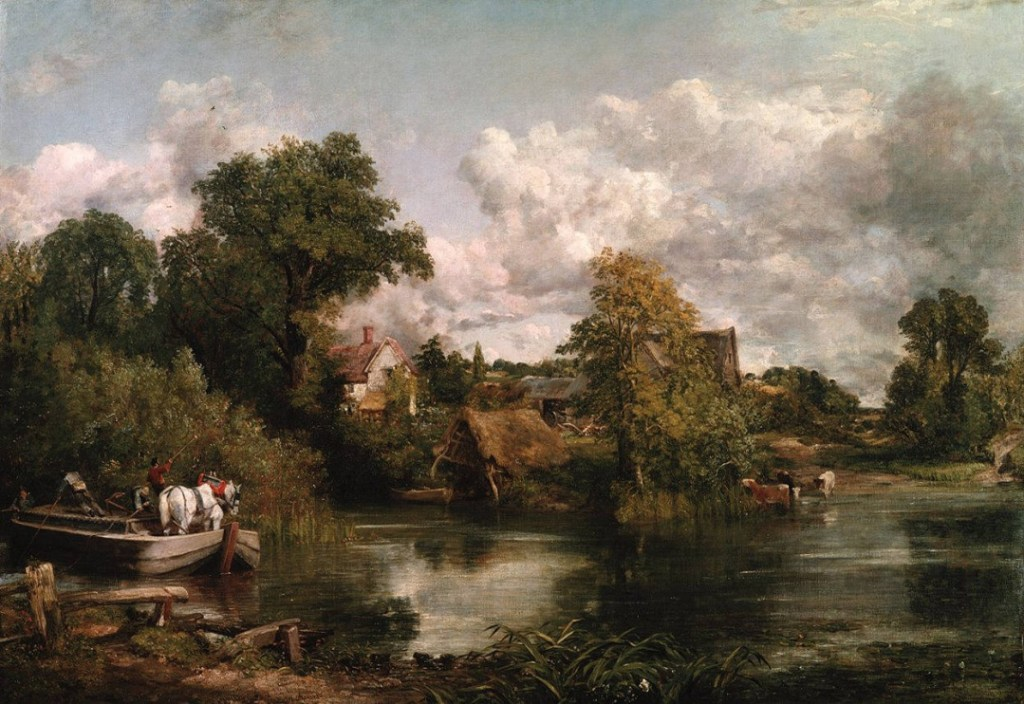 John Constable (1776-1837), Het witte paard, 1819 (The Frick Collection)