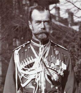 Tsaar Nicolaas II van Rusland