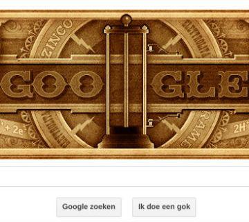 Alessandro Volta geëerd met Google Doodle