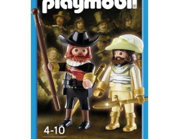 De Nachtwacht als Playmobil