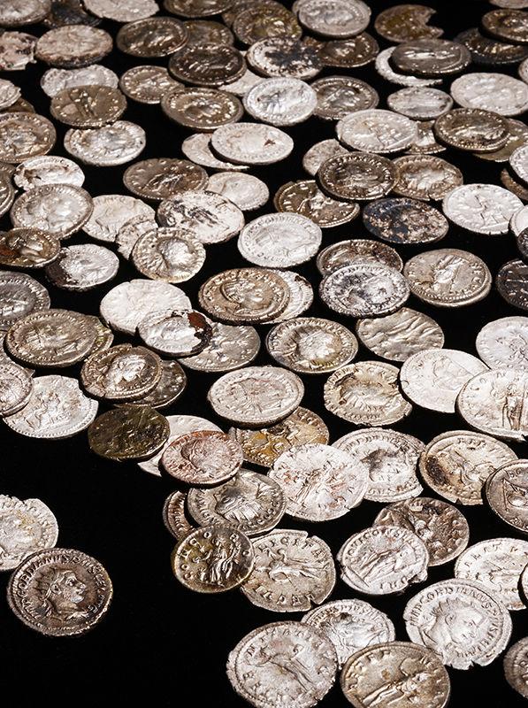 Een groot deel van de muntschat - RMO
