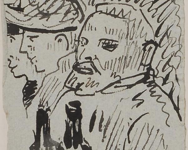 Het ontdekte portret van Van Gogh (Kunsthalle Bremen)