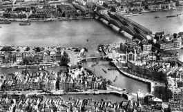Oude Haven en Maasbruggen in 1939 - cc