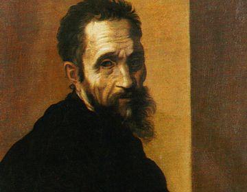 Portret van Michelangelo