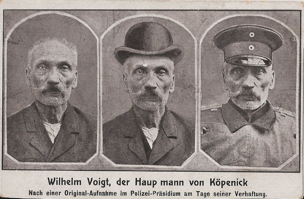 Duitse Humor Anno 1906 Der Hauptmann Von Kpenick