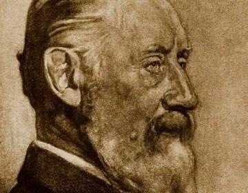 H.W. Mesdag getekend door H.J. Haverman
