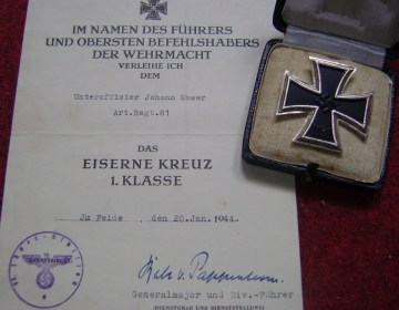 Onderscheiding voor Wehrmacht-soldaten - cc