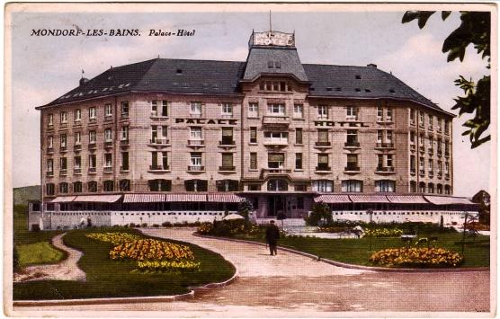 Palace Hotel voor de oorlog - cc