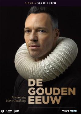 Poster ter promotie van de serie De Gouden Eeuw
