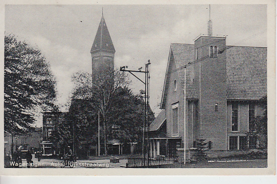 Wageningen, Aula, 1940