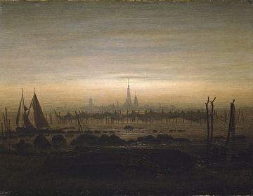 'Greifswald' - Caspar David Friedrich, 1817
