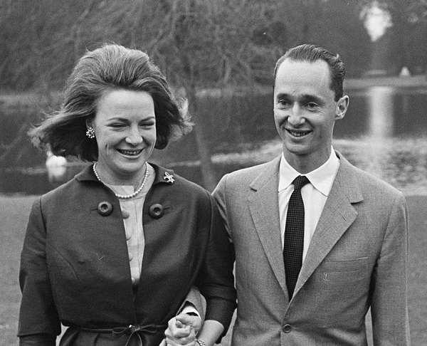 Irene en Carel Hugo , 1964. Foto: Harry Pot Anefo